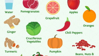 Photo of 9 foods for healthy lungs