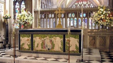Photo of Liturgical floral art